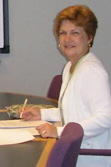 Susan Mannina at the August 2005 meeting at LCMS headquarters in Saint Louis, Missouri